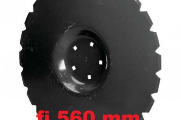 Ogłoszenie rolnicze: Talerz płaski uzębiony fi 560 mm gruber, brona, agregat