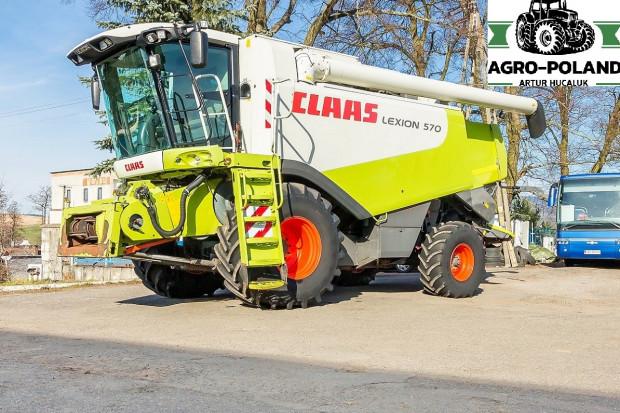 Ogłoszenie rolnicze: CLAAS LEXION 570 - 2005 ROK