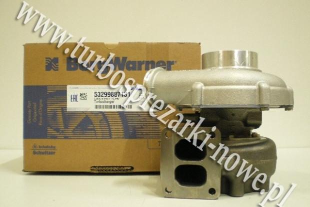 Ogłoszenie rolnicze: MAN - Turbosprężarka BorgWarner KKK 10.5 53299887109 /  53299707109 /