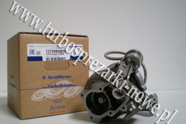 Ogłoszenie rolnicze: Turbosprężarka BorgWarner KKK - Sisu -   12749880015 /  12749700015 /
