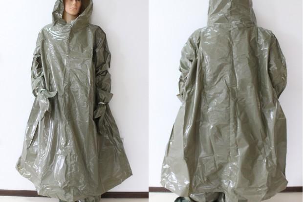 Ogłoszenie rolnicze: Wojskowy płaszcz przeciwdeszczowy NEW! OKAZJA