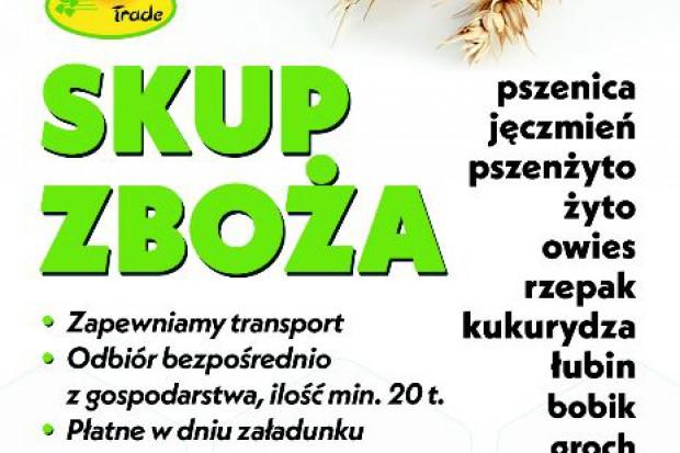 Ogłoszenie rolnicze: kupię żyto- skup żyta