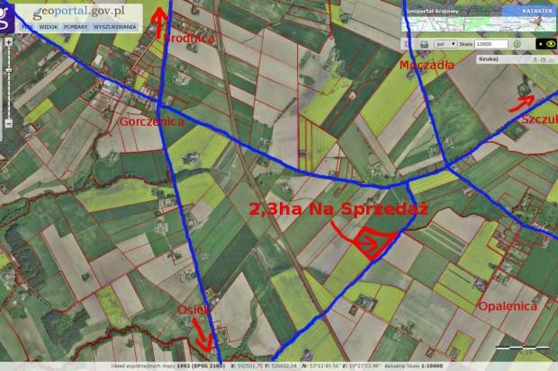 Ogłoszenie rolnicze: Sprzedam i wydzierżawię ziemię rolną w Gorczenicy - 7,6ha