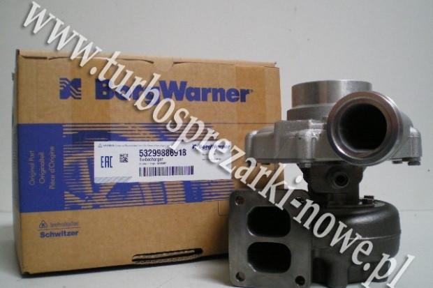 Ogłoszenie rolnicze: Liebherr - Turbosprężarka BorgWarner KKK 10.5 53299500012 /