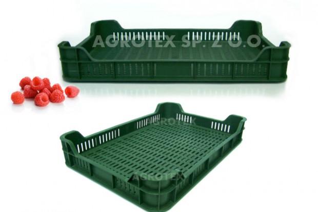 Ogłoszenie rolnicze: skrzynki plastikowe, skrzynki na owoce/warzywa, na owoce miękkie, maliny M5