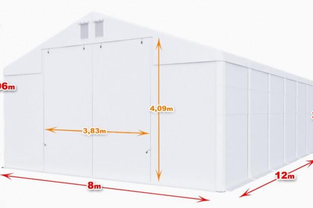 Ogłoszenie rolnicze: Całoroczna Hala namiotowa 8×12×3,54