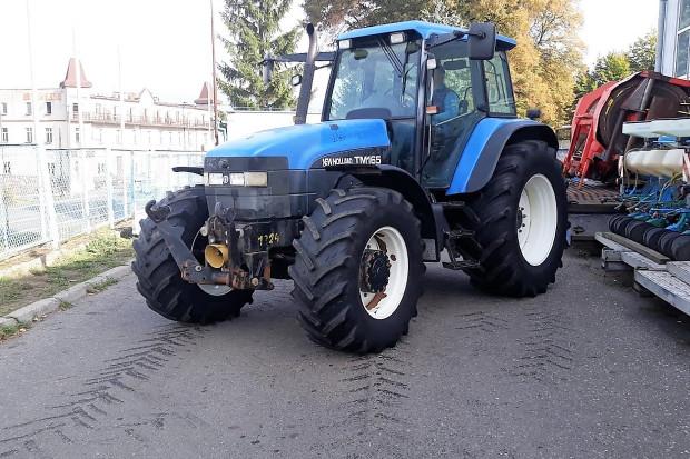 Ogłoszenie rolnicze: NEW HOLLAND TM 165 - WOM + TUZ - 2002 ROK