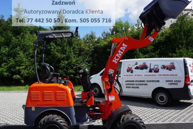 Ogłoszenie rolnicze: ELEKRTYCZNA, NOWA ŁADOWARKA KOŁOWA KMM ZLD905 - 2017r.