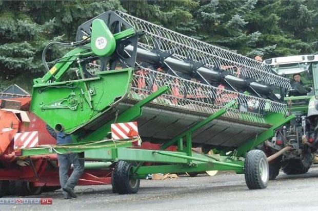 Ogłoszenie rolnicze: ŻNIWIARKA JOHN DEERE 625 R