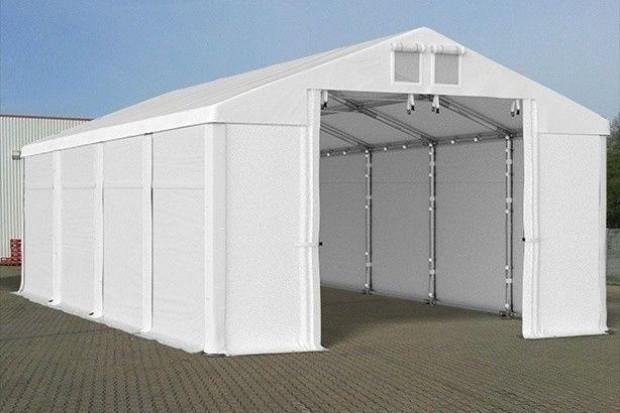 Ogłoszenie rolnicze:  Mocny namiot magazynowy MTB Warsztat Garaż 5x20x2
