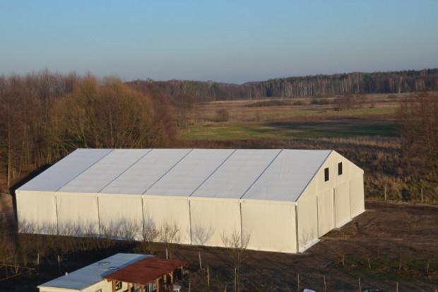 Ogłoszenie rolnicze: Hala namiotowa, magazyn całoroczny MTB