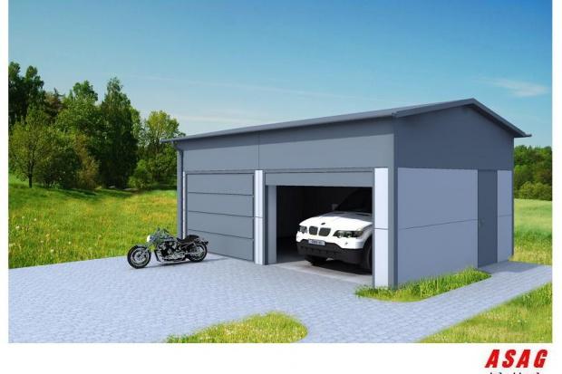 Ogłoszenie rolnicze: Pawilon garaż wiata magazyn 5x7x5 35m2  konstrukcja ocynkowana