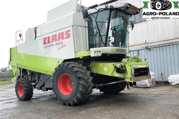 Ogłoszenie rolnicze: CLAAS LEXION 460 EVOLUTION + 2003 ROK + V 750 - V600 - V660