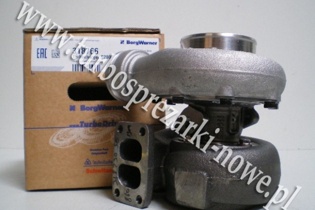 Ogłoszenie rolnicze: Deutz Fahr - Turbosprężarka SCHWITZER 7.2 318766 /  318736 /