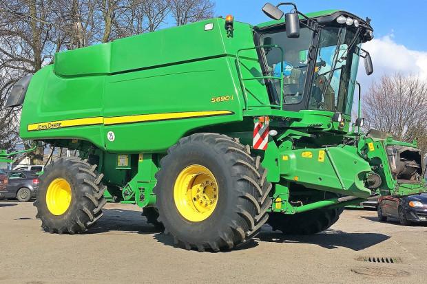 Ogłoszenie rolnicze: JOHN DEERE S690i - 9,15 M - SPROWADZONY - 2011 ROK