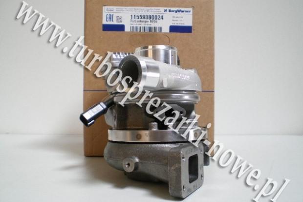 Ogłoszenie rolnicze: Turbosprężarka BorgWarner KKK - JCB -  4.8 11559700024 /  11559880024