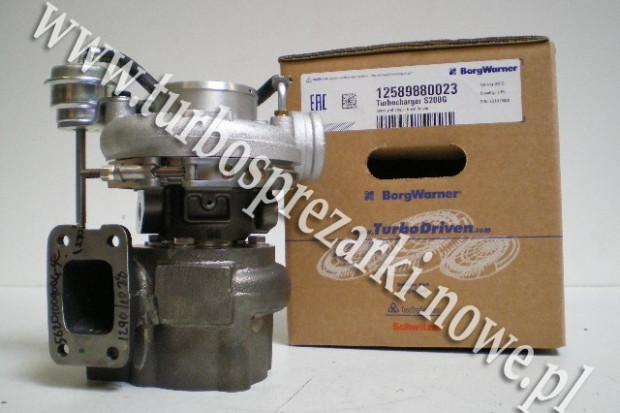 Ogłoszenie rolnicze: Deutz - Turbosprężarka BorgWarner KKK  12589880023 /  125897
