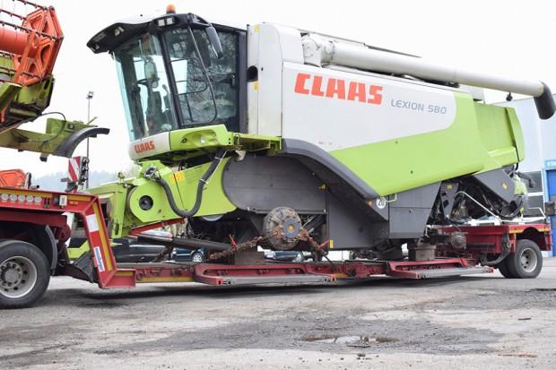 Ogłoszenie rolnicze: CLAAS LEXION 580 - V900 - 2009 ROK - MERCEDES 653 KM