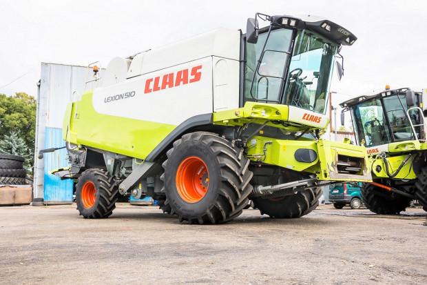Ogłoszenie rolnicze:  CLAAS LEXION 510 - V600 - 313 KM - QUANTIMETER