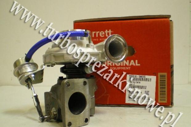 Ogłoszenie rolnicze: Iveco - Turbosprężarka GARRETT 4.0 755310-5001S /  755310-50