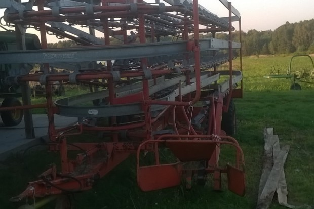 Ogłoszenie rolnicze: Przyczepa do kostek Kemper be95 (nie kemper be125 )