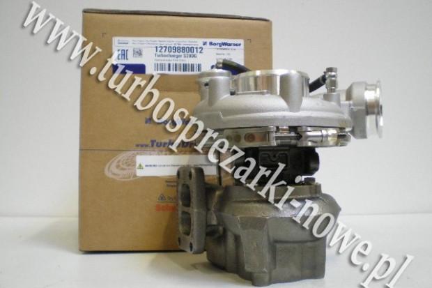 Ogłoszenie rolnicze: Deutz Fahr - Turbosprężarka BorgWarner KKK 7.2 12709880012 /