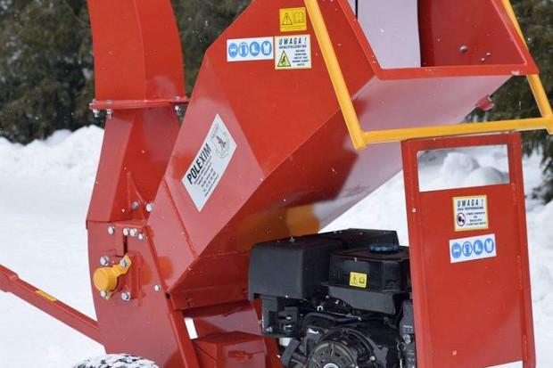 Ogłoszenie rolnicze: Rębak - rozdrabniacz do gałęzi silnik 15 kM, silnik z elektrostartem