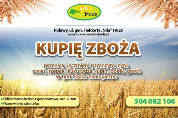 Ogłoszenie rolnicze: kupię jęczmień ozimy