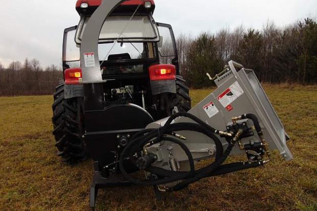 Ogłoszenie rolnicze: Rębak tarczowy o wzmocnionej konstrukcji JANSEN 62RS, 4 NOŻE