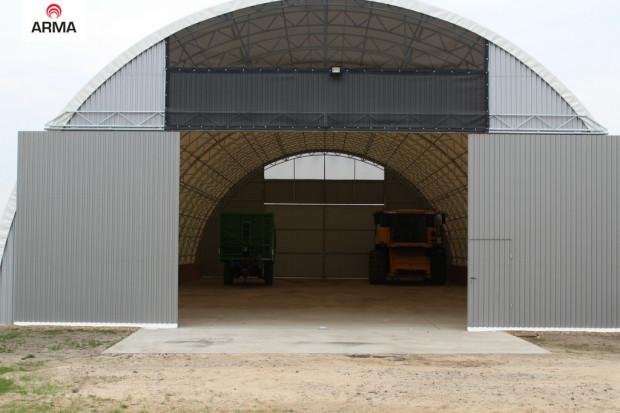Wiata Zadaszenie Garaż Hala Tunelowa 10x36 Pozostałe