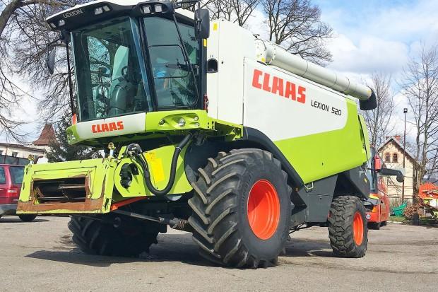 Ogłoszenie rolnicze: CLAAS LEXION 520 - VARIO 660 - 2005 ROK