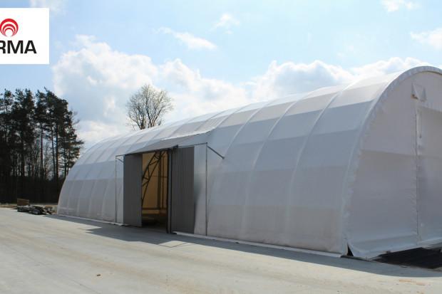 Ogłoszenie rolnicze: hala tunelowa łukowa magazyn wiata garaż konstrukcja 10x20