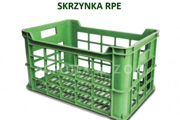 Ogłoszenie rolnicze: Skrzynki plastikowe RPE