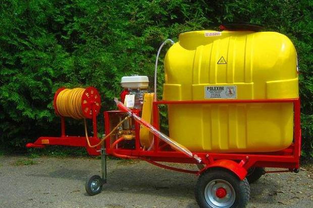 Ogłoszenie rolnicze: Opryskiwacz spalinowy do wózków widłowych ładowarek kołowych 400l