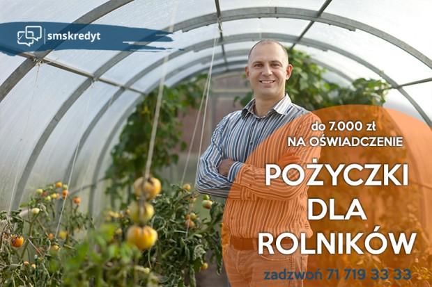 Ogłoszenie rolnicze: Pożyczki gotówkowe dla Rolników