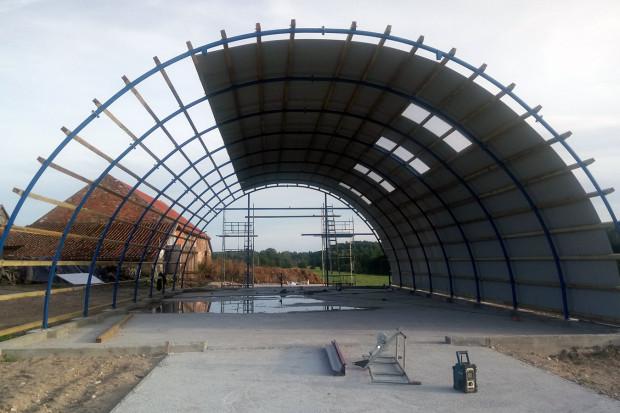Ogłoszenie rolnicze: HALA łukowa tunelowa magazyn hangar 11,8 x 40