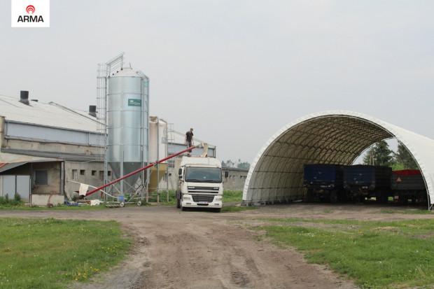 Ogłoszenie rolnicze: wiata hala tunelowa konstrukcja kratownicowa 10x50