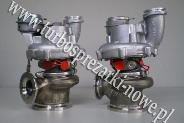 Ogłoszenie rolnicze: BMW - Turbosprężarka GARRETT 4.4 769155-0011 /  769155-0012
