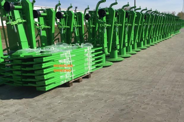 Ogłoszenie rolnicze: Kosiarka rotacyjna 1,65 m 1,35 m 2,1 m 1,85 m Kuźnia Kowalski Koła łukowe