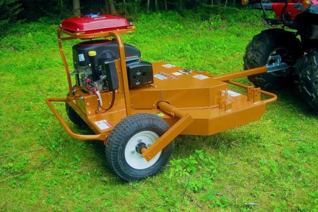 Ogłoszenie rolnicze: Rozdrabniająca kosiarka spalinowa do quadów SMR-120