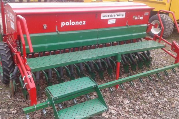 Ogłoszenie rolnicze: Siewnik zbożowy Unia POLONEZ 550/3