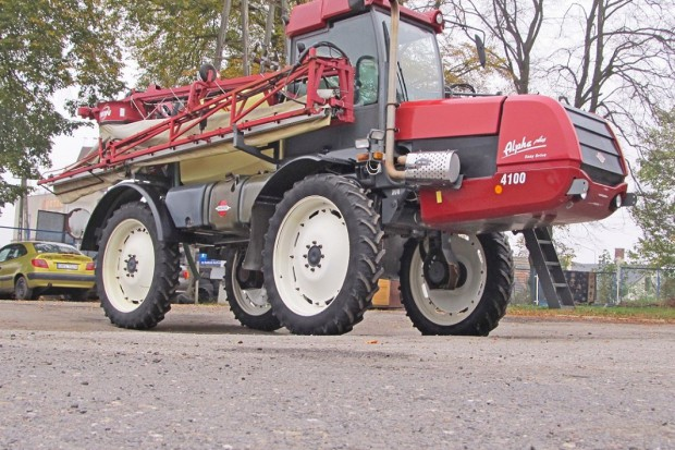 Ogłoszenie rolnicze: OPRYSKIWACZ HARDI 4100 PLUS TWIN FORCE - EASY DRIVE - 2007 ROK