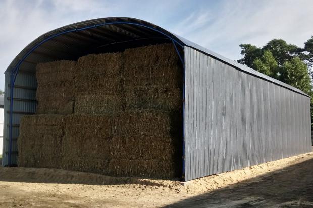 Ogłoszenie rolnicze:  HALA ŁUKOWA tunel rolniczy ciągnik wiata 10,8 x25