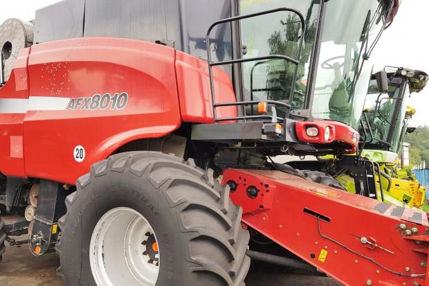 Ogłoszenie rolnicze: CASE 8010 AFX - 7,32 M + CAPELLO QUASAR R8 - 2007