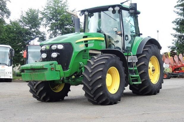 Ogłoszenie rolnicze: CIĄGNIK ROLNICZY JOHN DEERE 7830 POWER QUAD - 4 X HO - PNEUMATYKA- 2007 ROK