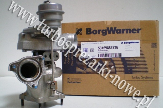 Ogłoszenie rolnicze: Porsche - Turbosprężarka BorgWarner KKK 3.6 53169886726 /  5