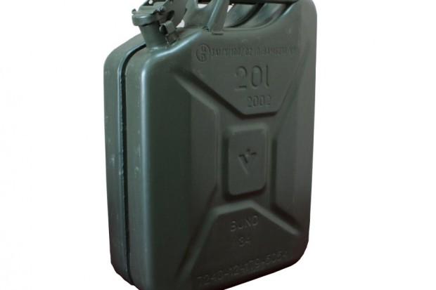 Ogłoszenie rolnicze: Metalowy Kanister wojskowy 20l BUNDESWEHR PROMOCJA