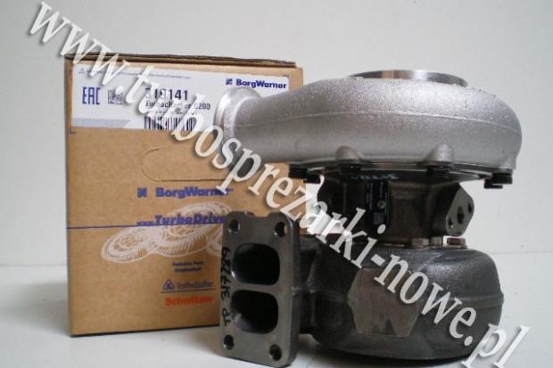 Ogłoszenie rolnicze: Deutz - Turbosprężarka BorgWarner KKK 6.6 12749880001 /  127