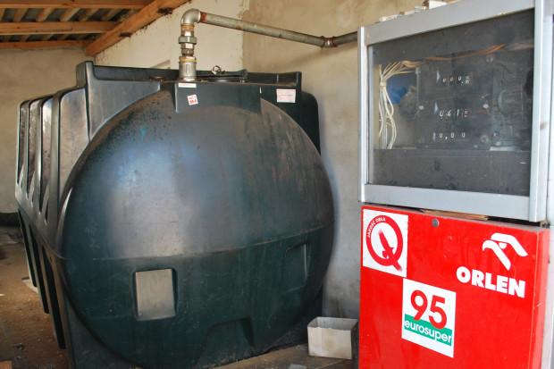 Ogłoszenie rolnicze: Zbiornik na olej napędowy/opałowy 3500L