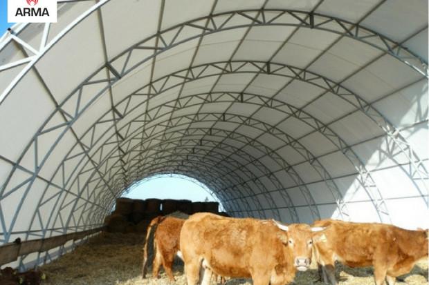 Ogłoszenie rolnicze: zadaszenie tunel rolniczy hala łukowa 10x30